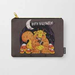 Happy Chaos Monsters - Happy Halloween Sugar Squirrel Carry-All Pouch