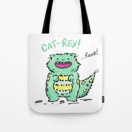 Cat Rex Tote Bag