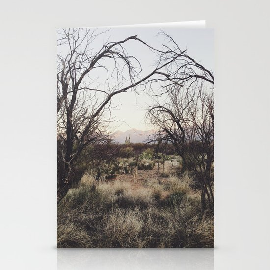 Coyote Canopy Stationery Cards