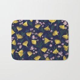 Ginkgo Blossoms Bath Mat