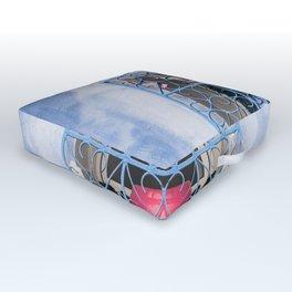 Window Wash Outdoor Floor Cushion