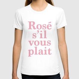 Rosé T-shirt