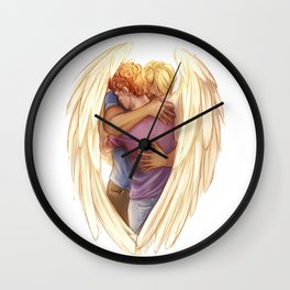 Hug Wall Clock