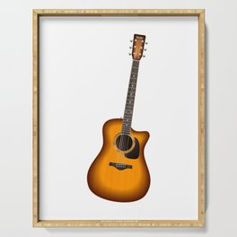 Guitar - Guitar Player Serving Tray