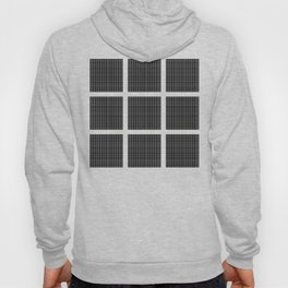 Squares of Black Hoody