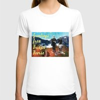 postcard T-shirts featuring Vintage Postcard by Bridget Beorse