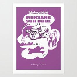 Morsang sur orge Art Print