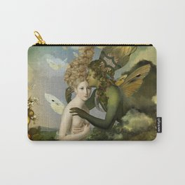 """The body, the soul and the garden of love"" Carry-All Pouch"