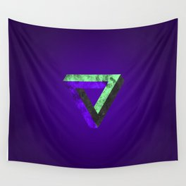 The infinity triangle inverted Wall Tapestry