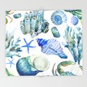 Sea Life Pattern 05 by serigraphonart