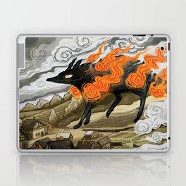 Disaster Strikes Laptop & iPad Skin