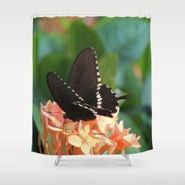Kowloon Wings Shower Curtain
