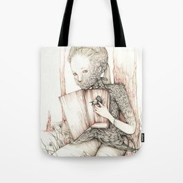 Drawings from personal  series Tote Bag