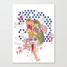 It Hurts Canvas Print