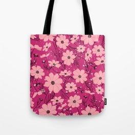 Cosmea pink Tote Bag