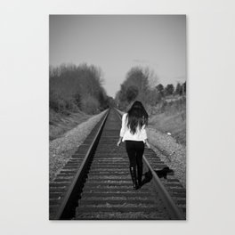 Songbird, Fly Home Canvas Print