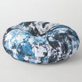 Abstract #2 - Vivid  Floor Pillow