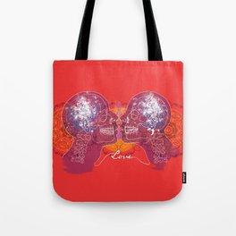 Cosmic Love - Red Tote Bag