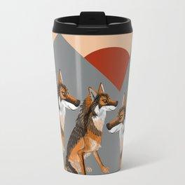 Wolves of the World: Iberian wolf (GREFA) Travel Mug