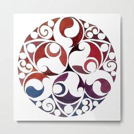 Celtic Circle VIII Metal Print