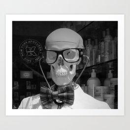 Mad Doc Art Print