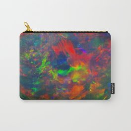 Black Opal from Lighting ridge  Carry-All Pouch