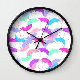Round, round, baby Wall Clock