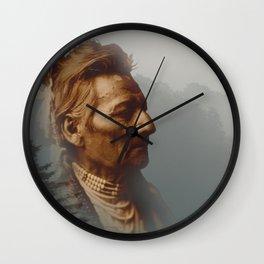 PioPio-Maksmaks - Walla Walla - American Indian Wall Clock