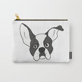 Grumpy Boston Terrier Carry-All Pouch