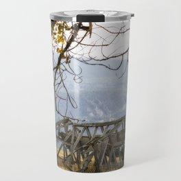 Lean To - Mormon Row - Grand Tetons Travel Mug