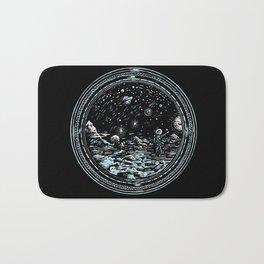 Miniature Circle Landscape 2: Astronausea.. Bath Mat