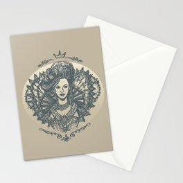 Long Live the Queen Stationery Cards