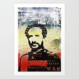 Haile Selassie War Art Print