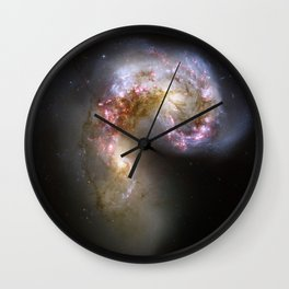 Antennae Galaxies Wall Clock