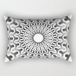 Geometric mandala pattern Rectangular Pillow