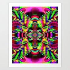 Abstract Fractal Fantasy 1 Art Print