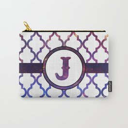 Galaxy Monogram: Letter J Carry-All Pouch