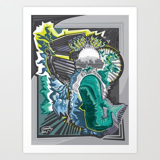 The Journey of Jonah Art Print
