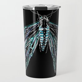 Anatomical Moth 2 Travel Mug