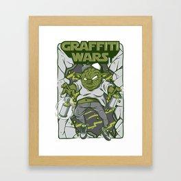 Graffiti Wars #2 Framed Art Print