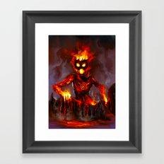 Te Kā Framed Art Print
