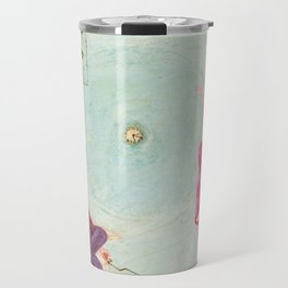"Florine Stettheimer ""Portrait of Marcel Duchamp and His Alter Ego Rrose Sélavy"" Travel Mug"