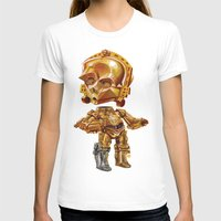 c3po T-shirts featuring C3PO by oRen