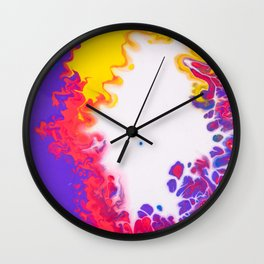 play of color Wall Clock