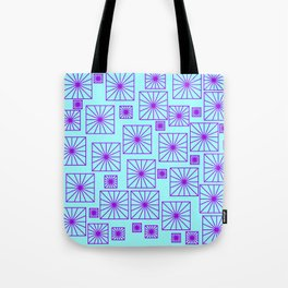 SKYBLUE SQUARE Tote Bag