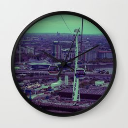 Cable Car to Greenwich Wall Clock