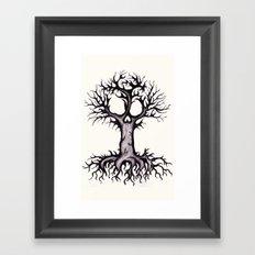 Skull Tree 3 Framed Art Print