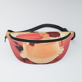 Rat and time rabbit Fanny Pack