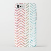 herringbone iPhone & iPod Cases featuring Herringbone by Chilligraphy