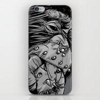 gladiator iPhone & iPod Skins featuring PNKMNKY by karakalemustadi